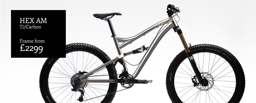 The Hex AM, a 140mm travel full suspension 27.5'er