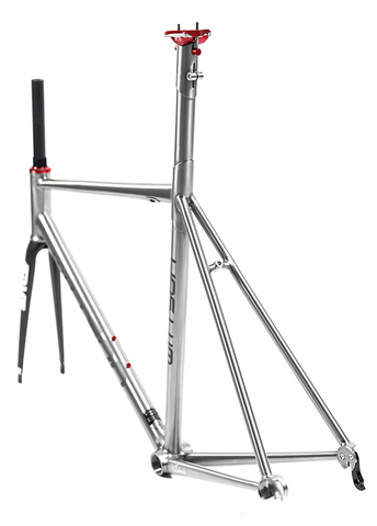 Suppresio road frame retails at €1989 in it's stock form